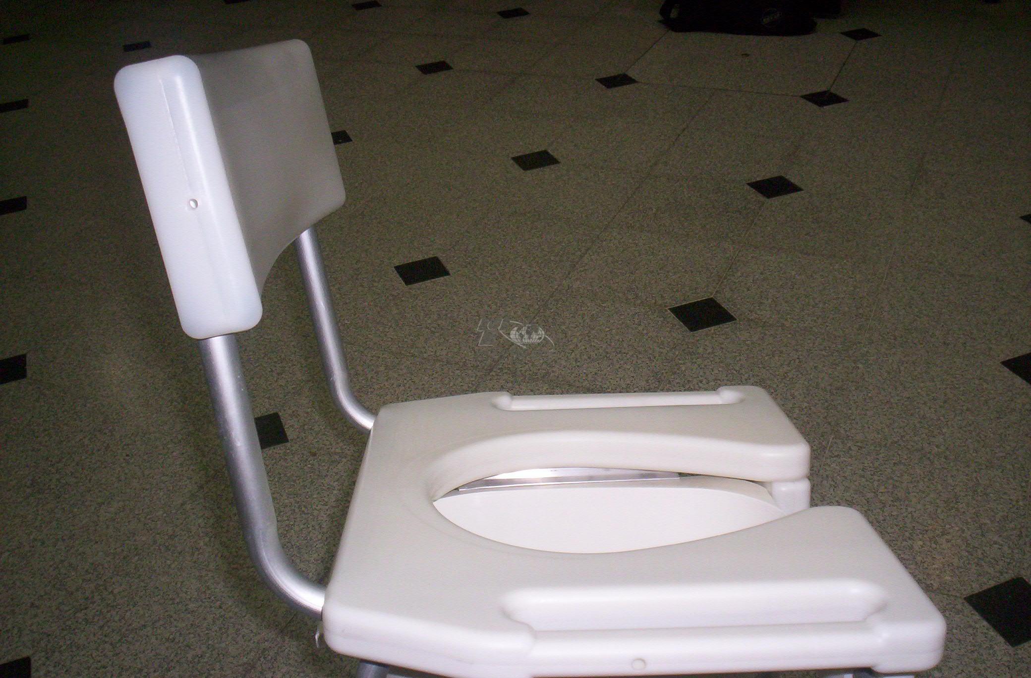 Inrago s a elevador de inodoro y silla para ducha con for Articulos de ducha